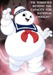 Stay Puft Marshmallow Man by kevinbolk