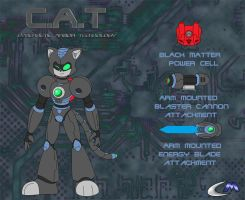 Super Hero 2: Cat by clashmecha