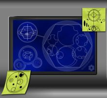 TARDIS Interface Screen by Worldnewser