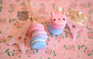 Purr Macarons by LeChatNoirHandMade