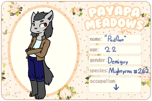 { PM } ''Padfoot'' by SnowInTheVeins
