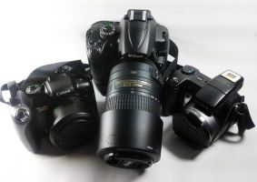 My Camera Gears by archaznable30