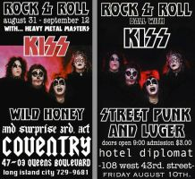 kiss vintage concert posters (2) by artisticphotographer