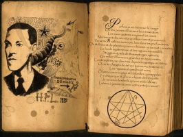 Howard Phillips Lovecraft by NoirJet