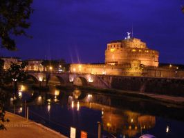 Castel Sant'Angelo by AirInMotion