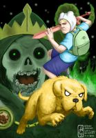 Attack of the Lich - Adventure Time by subt-L-eyes
