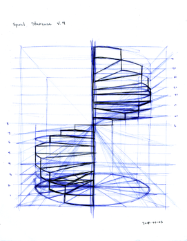 Spiral Staircase by tynafish