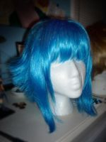 Blue Flipped Wig by taiyowigs