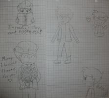 Little Clive sketches by kenabe