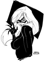 Black Cat 05 by SergioXantos