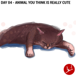 Day 04 - Animal You Think Is Really Cute by mohdsyukri83
