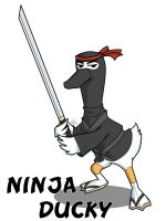 Ninja Ducky by NeuroticCrow