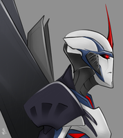 TFPrime Starscream by KusuKitty
