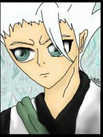 Toshiro Closeup by zodiac1805