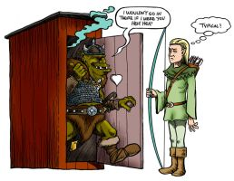 Public Restrooms of Middle-Earth by Loneanimator