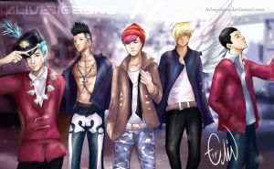 Big Bang - Alive by Arlequinne