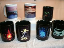 Mugs Purchased Ages Ago by RaiuDragon