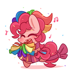 Cheerleader pinkie by MACKINN7