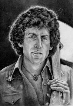 Paul Glaser with Guitar by enednoviel