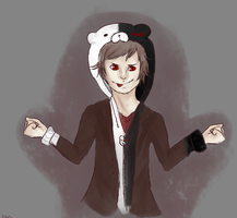 Art Trade: Mastermind Naegi by sehni
