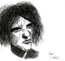 Portrait of Robert Smith by DConkovich