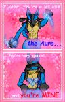Lucario Valentine by WhIppIng-b0y