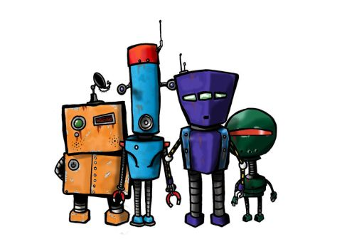 more robots for the band by pipboy5000