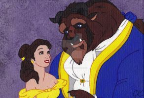 Beauty and the Beast by CaraLouKimba