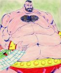 Zangief new abs by emmemmeit