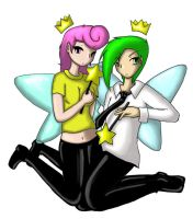 Cosmo and Wanda by Andraous
