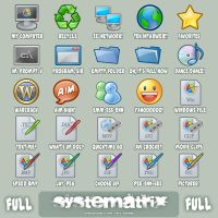 Icons: Systematrix Full by royalflushxx
