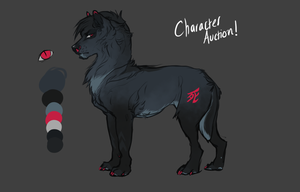 Wolf Character Auction! by Rinermai