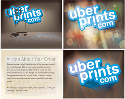 Uber Prints Marketing Cards by tomqvaxy