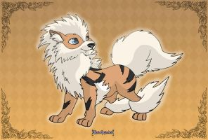 Arcanine by MySweetQueen