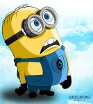 Minion of Despicable Me Vector Art by arelberg