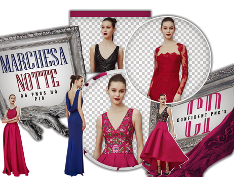 Png Pack 649 // Marchesa Notte by confidentpngs
