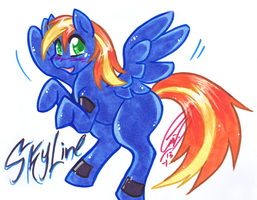 Pony doodlie for Ryaaaaanz by carnival