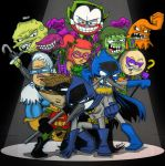 Regular Show Batman Special by koude123