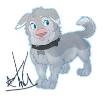 KiteMutt Puppy by Kiwi-Heart