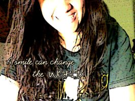 Change the World by SellySmilerSwan