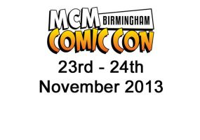 MCM Comic Con October 2013 Album Cover by Paper-Cube