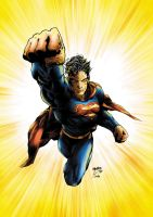 Superman Coloured by NineteenPSG