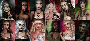 Imvu - DP Summary - Halloween Special by 1000kisses