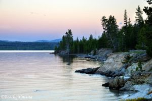 Yellowstone Lake by BeachGirlNikita