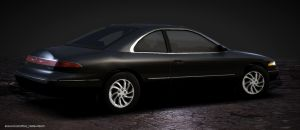 1996 Lincoln Mark VIII rear by Schaefft