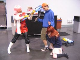 FLCL Cosplay 03 by Knightfourteen