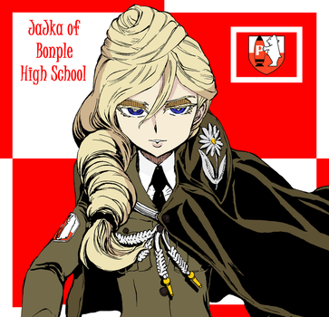 Jajka of Bonple High School by mirage2000