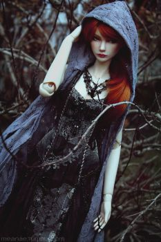 The red Witch I by Meanae