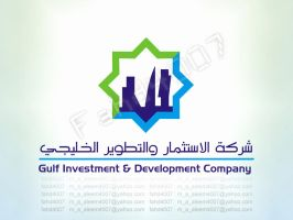 Corporate - ID - LOGO  Gulf Investment and Develop by fahd4007
