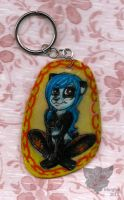 Alice Keychain by Morghiesart